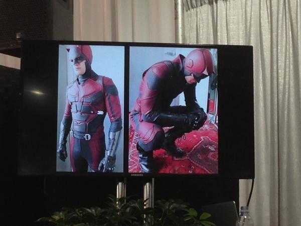 Imagens captadas no set de filmagem da série